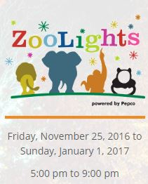 Smithsonian's National Zoo holidays